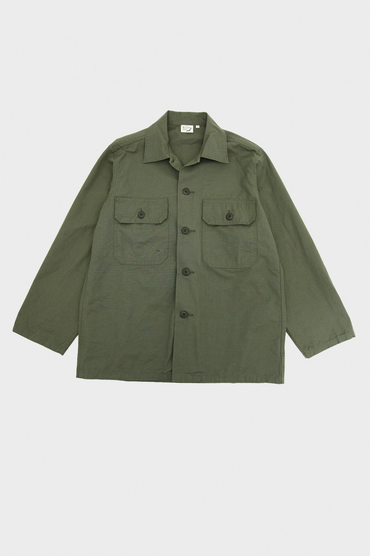 orSlow - Trooper Fatigue Shirt - Army - Canoe Club
