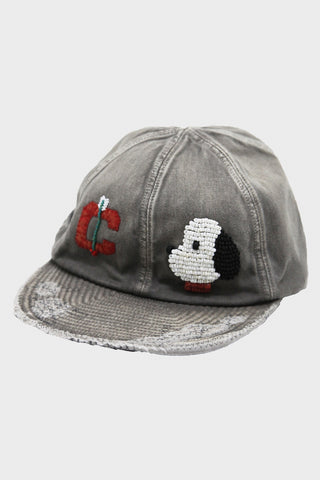kapital KOUNTRY - Cotton KOLA Cap (ZUNI) - Gray