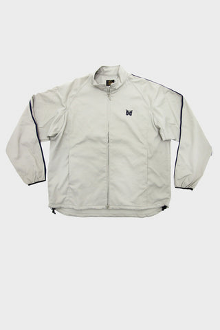 needles run-up jacket in grey full frontal image