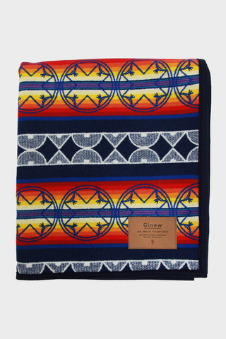 Ginew and Pendleton We Walk Together Wool Blanket