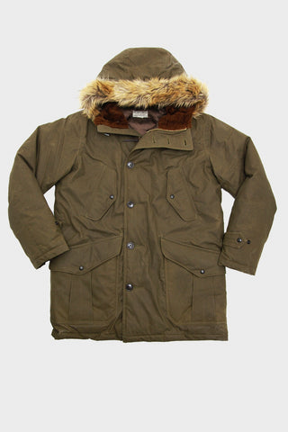 Henderson Parka - Olive Waxed Cotton