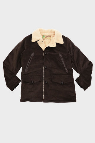 sugar cane clothing japan Corduroy Ranch Coat - Brown