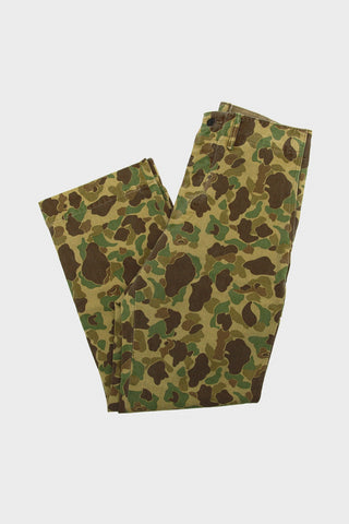 rrl ralph lauren Cotton Chino Pant - Olive Frog Skin Camo