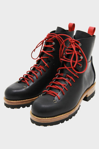 Bamboo Military Hiker - Black/Red