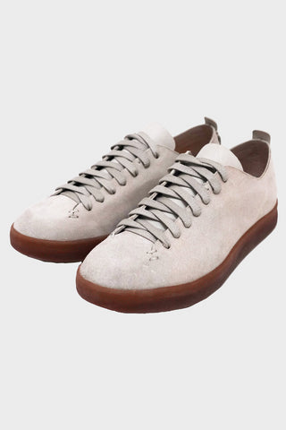 feit shoes Hand Sewn Low Suede Latex - Tan
