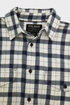 Filson Lightweight Alaskan Guide Shirt - Natural/Blue Heather Plaid