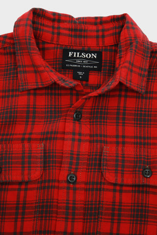 Scout Shirt - Red/Olive Plaid