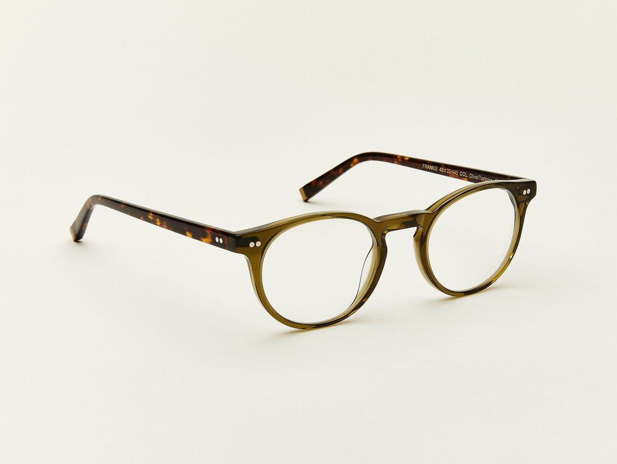 Moscot - Frankie - Olive/Tortoise Optical - Canoe Club