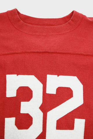 Old Football Tee - Red