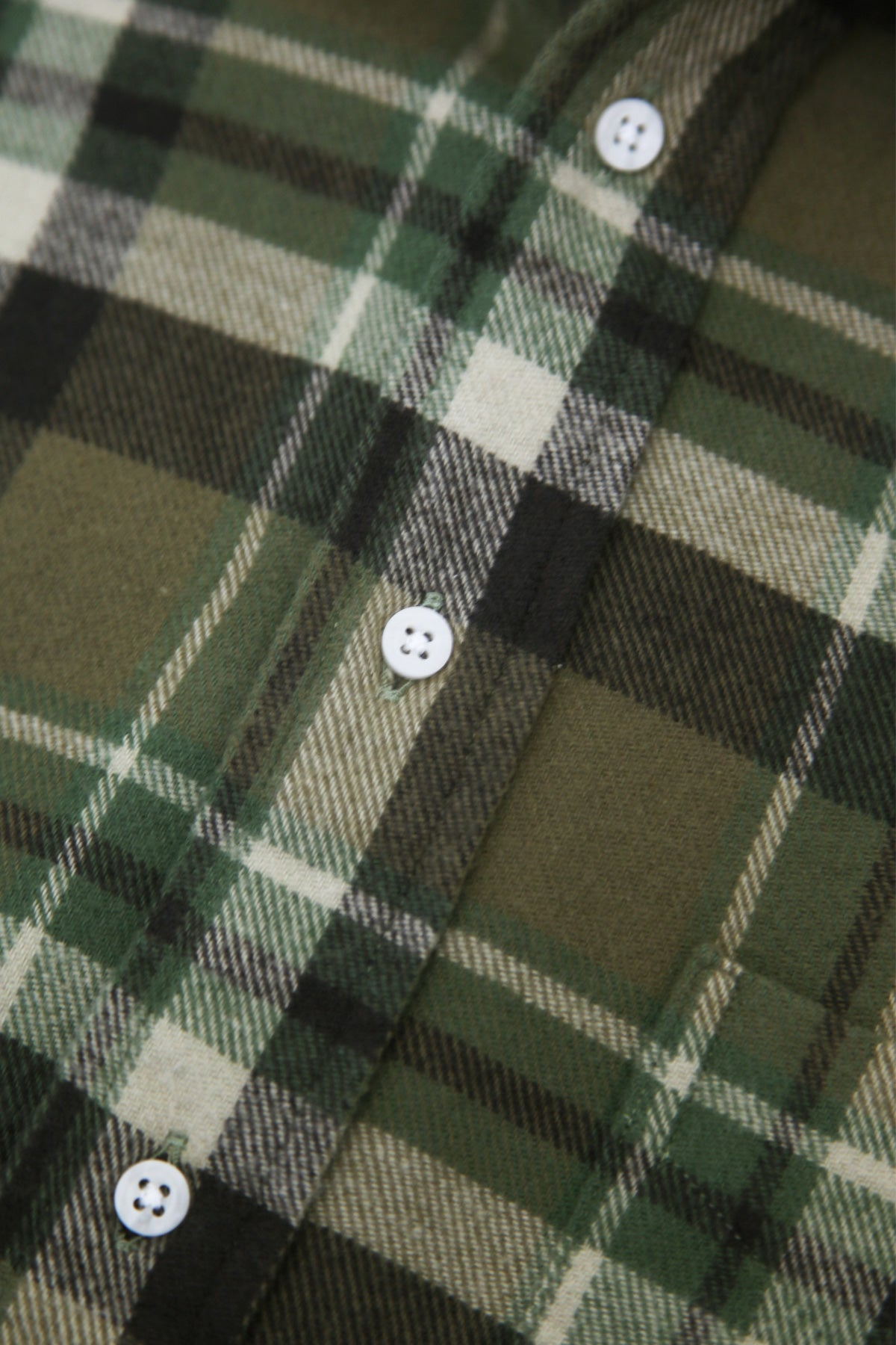 Gitman Bros. Vintage - Country Plaid Button Down Shirt - Olive - Canoe Club