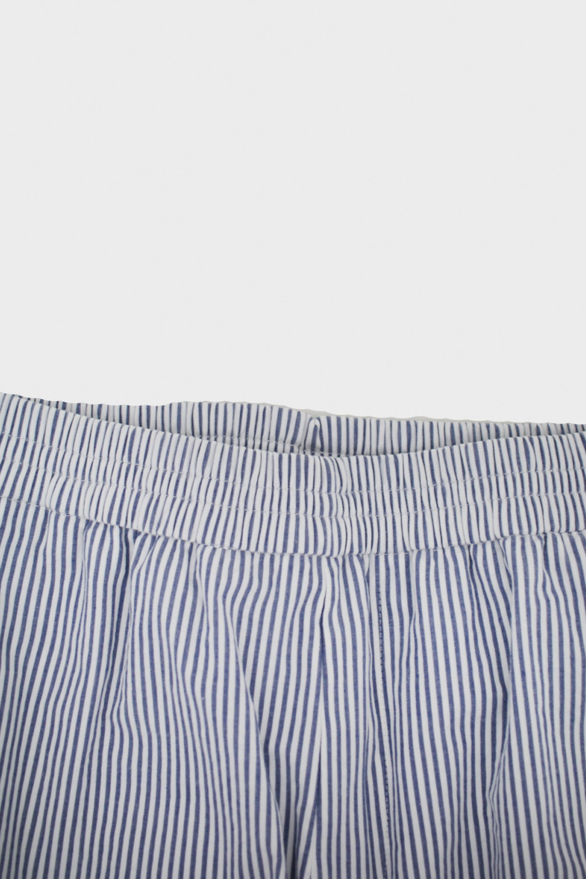 Harmony - Paolo Trouser - Blue Striped - Canoe Club