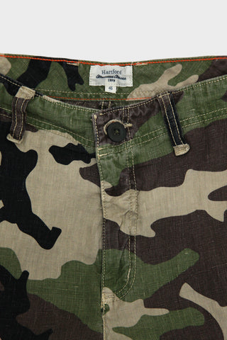 Hartford clothing france Bank Shorts - Camo