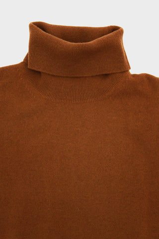 Cashmere Roll Neck - Amber