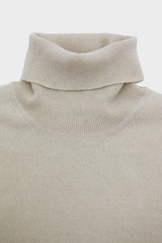 Cashmere Roll Neck - Raw