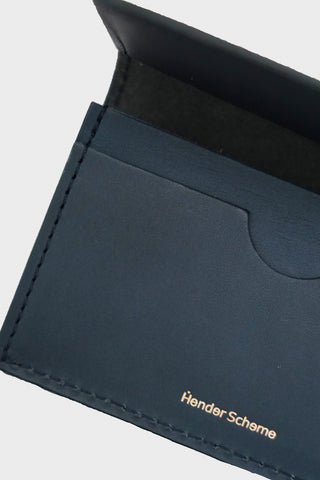 hender scheme Folded Card Case - Navy