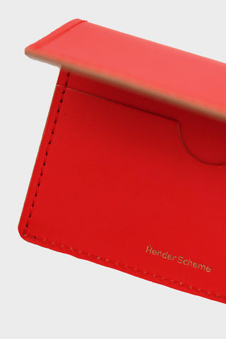 Hender Scheme Folded Card Case - Orange