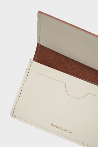 hender scheme Folded Card Case - White