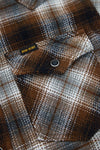 Classic Check Western Shirt - Brown