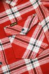Vintage Check Western Shirt - Red