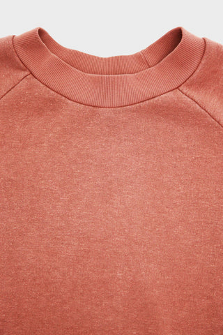 Raglan French Terry Sweatshirt - Teracotta