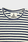 Yarn Dyed Tee - French Navy Stripe