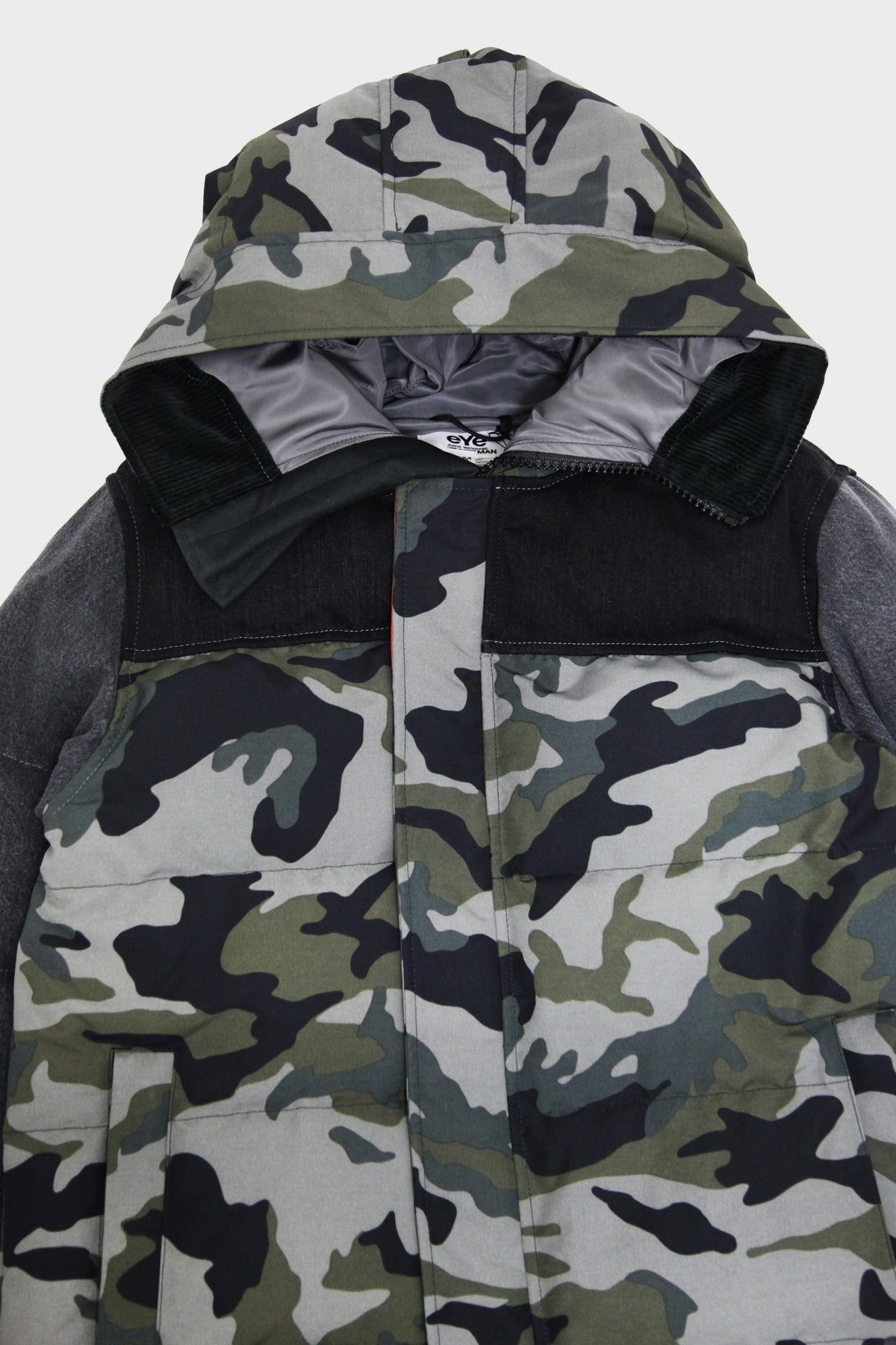 junya watanabe Canada Goose MacMillian Parka - Customized - Gray/Black