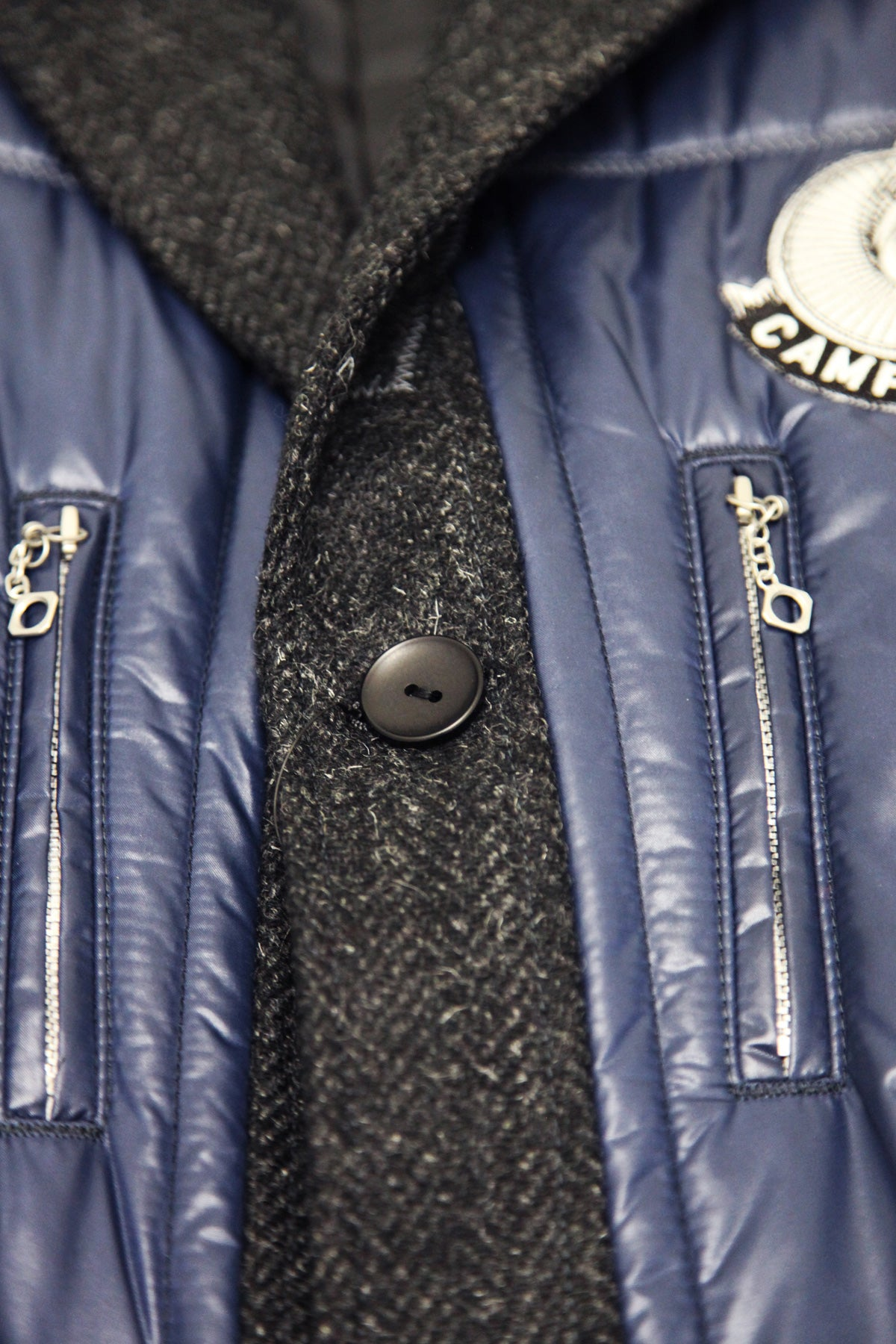 Campagnolo Patch Jacket - Nylon x Wool - Multi
