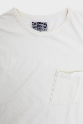 Tube Knit Tee - Milk