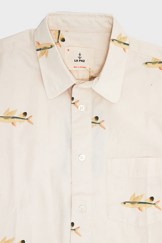 la paz Alegre Printed Shirt - Flying Fish