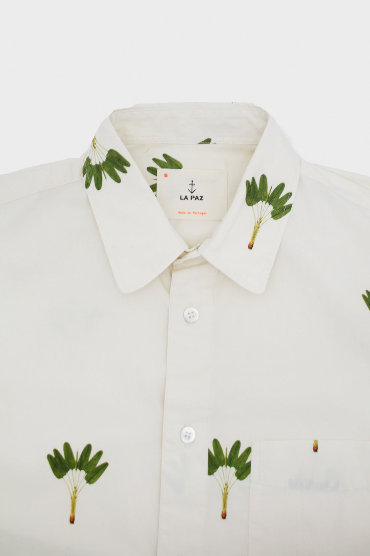La Paz - ALEGRE Printed Shirt - Palm - Canoe Club