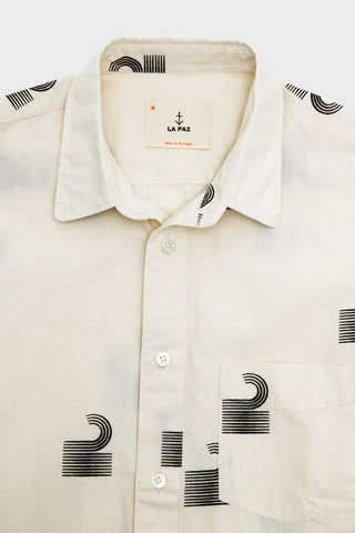 la paz clothing Alegre Printed Shirt - The Wave