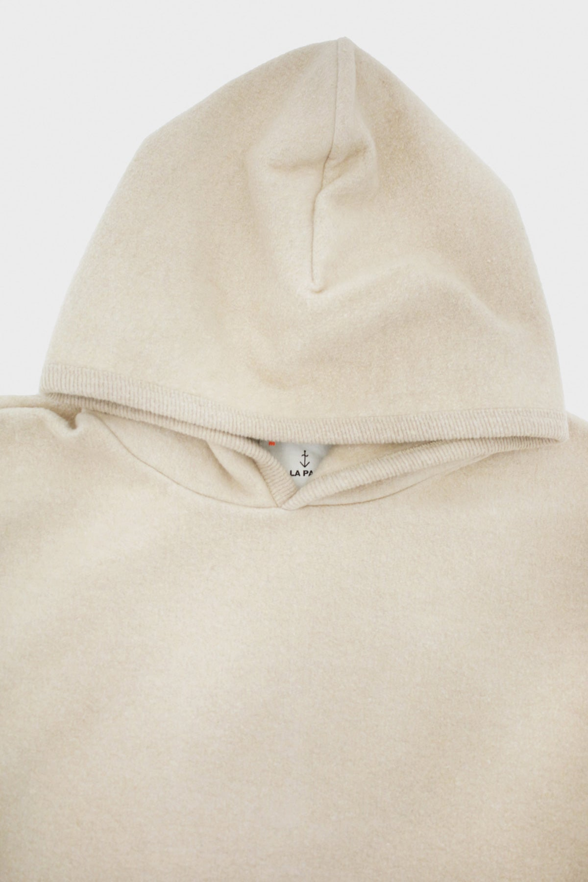 La Paz - Matias Hoodie - Light Brown Fleece - Canoe Club