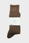 Athletic Sock - Brown