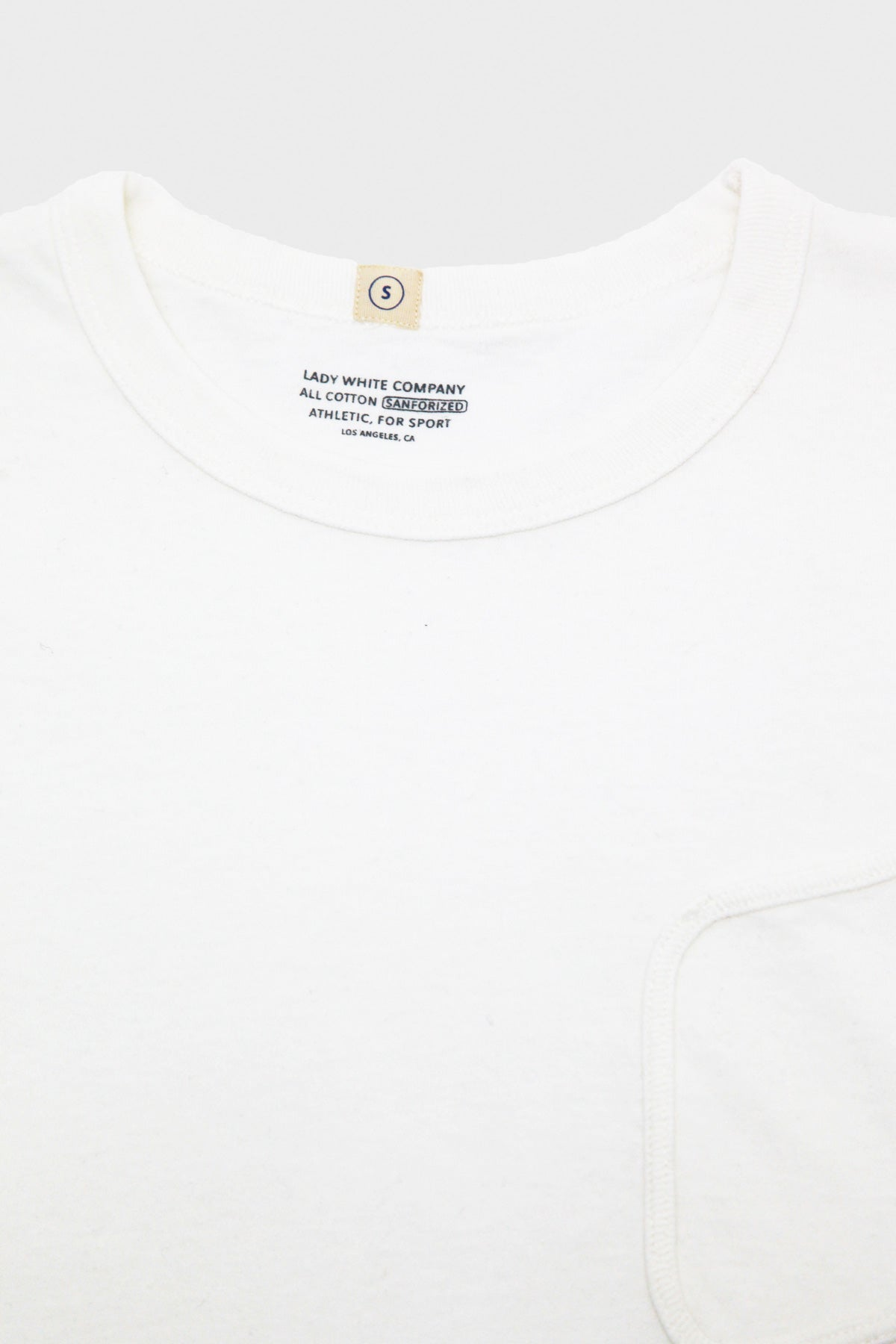 Lady White Co. - Clark Pocket Tee - White - Canoe Club