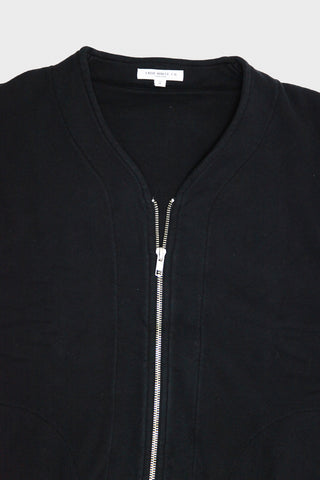 lady white co. Layered Zip Jacket - Faded Black
