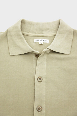 lady white co. Placket Polo - Beige