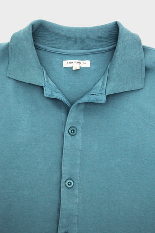 lady white co. Placket Polo - Culver Blue