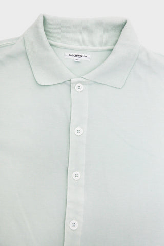 lady white co Placket Polo - Mist