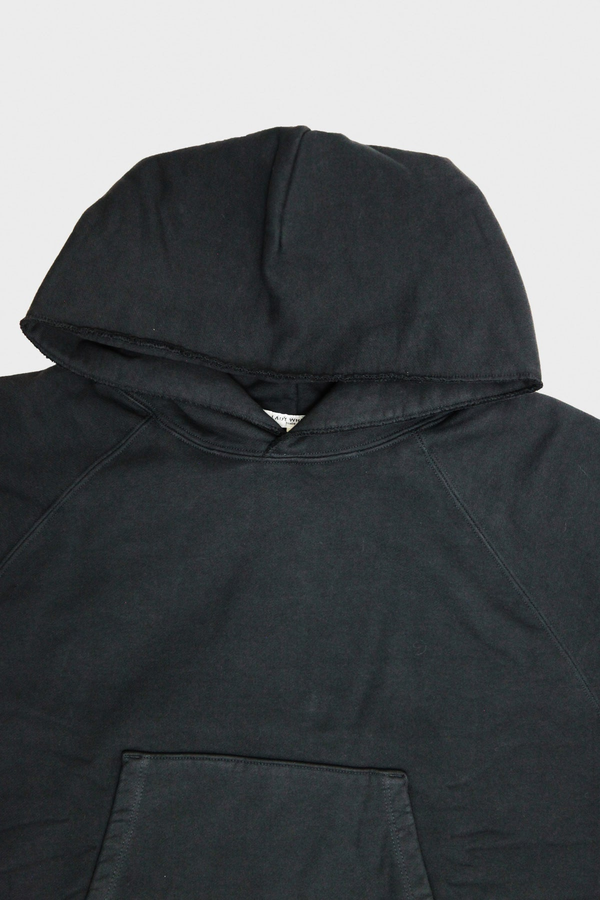 Lady White Co. - Super Weighted Hoodie - Faded Black - Canoe Club