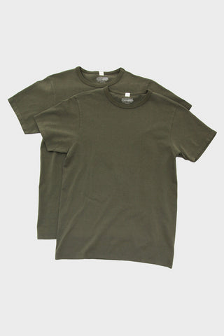 lady white co. Two Pack T-Shirts - O.D. Green