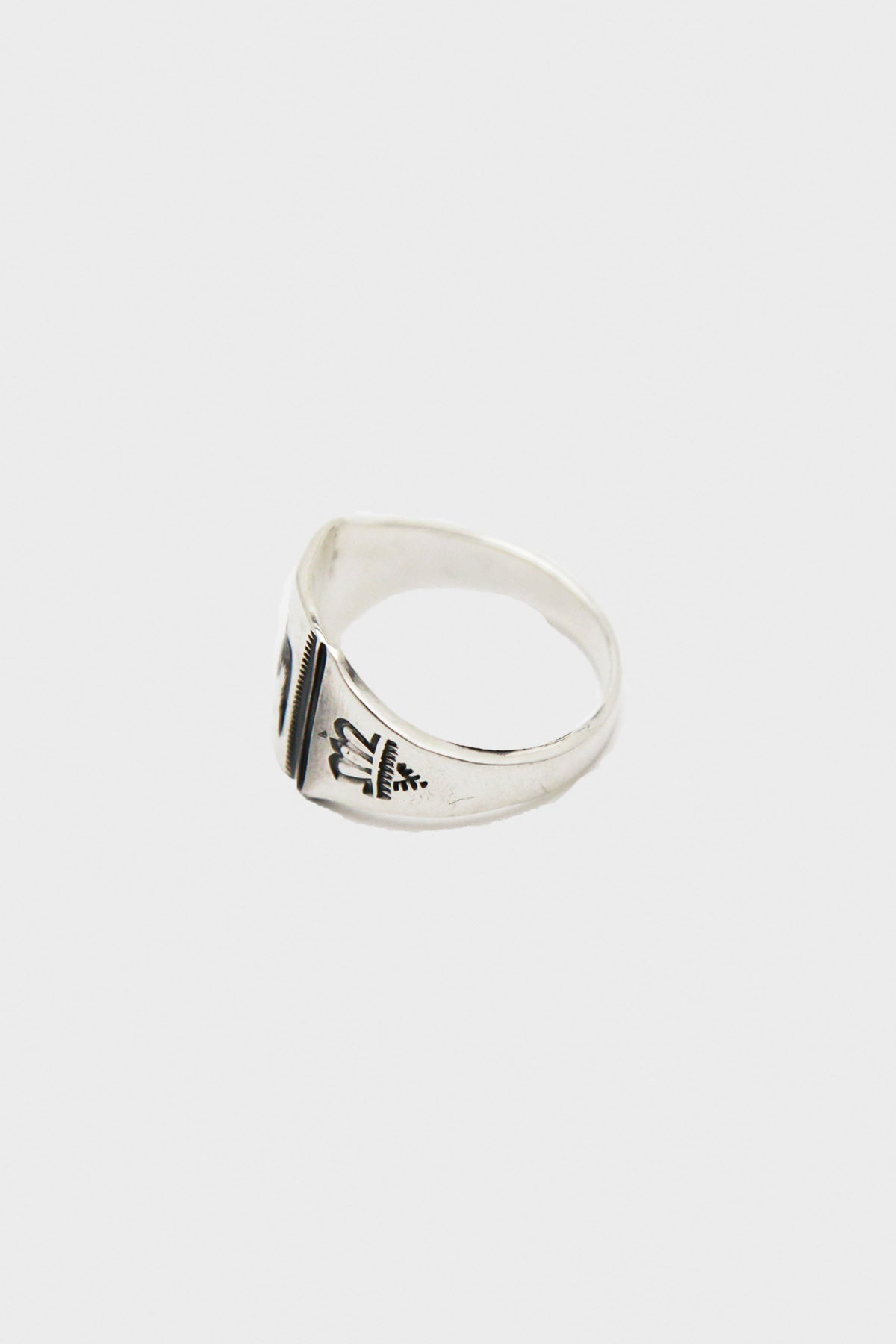 Larry Smith - Stamped Ring - Canoe Club