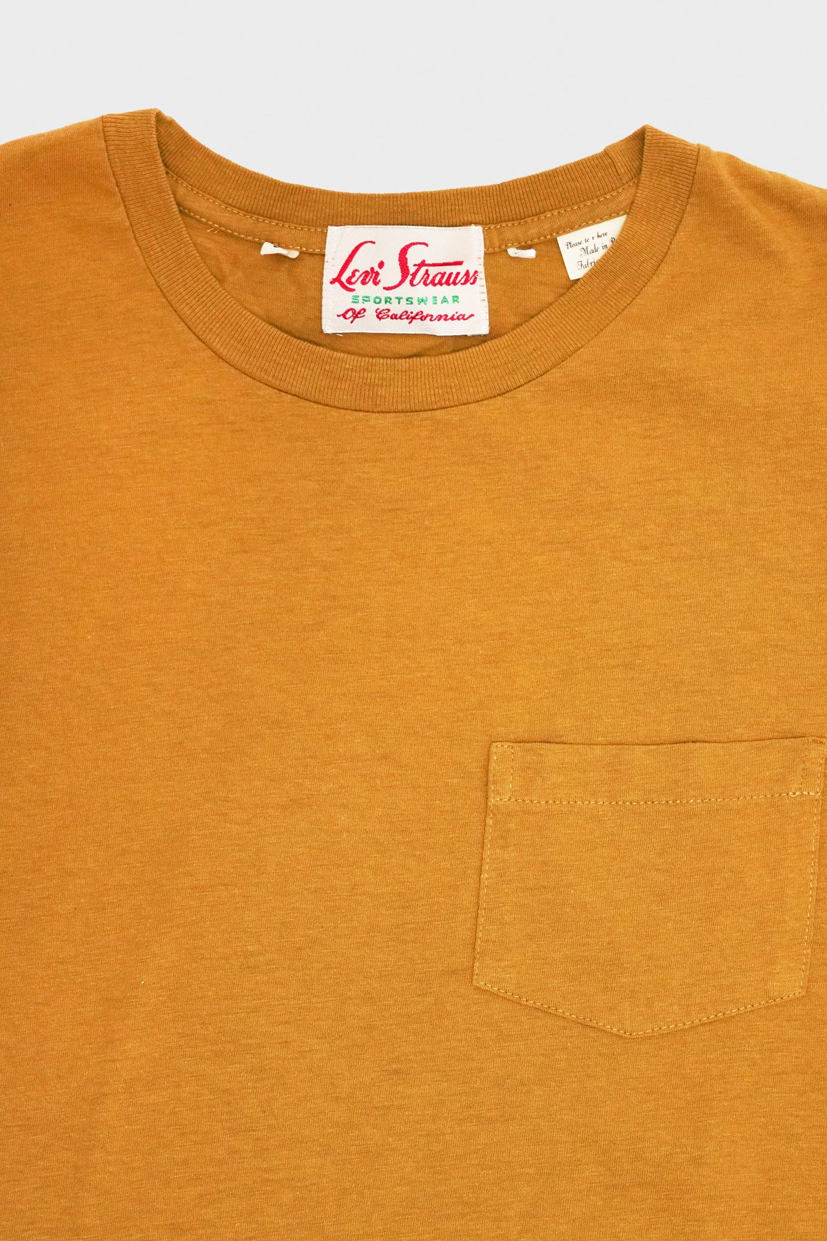 Levi's Vintage Clothing - 1950s Sportswear Tee - Wood Thrush - Canoe Club