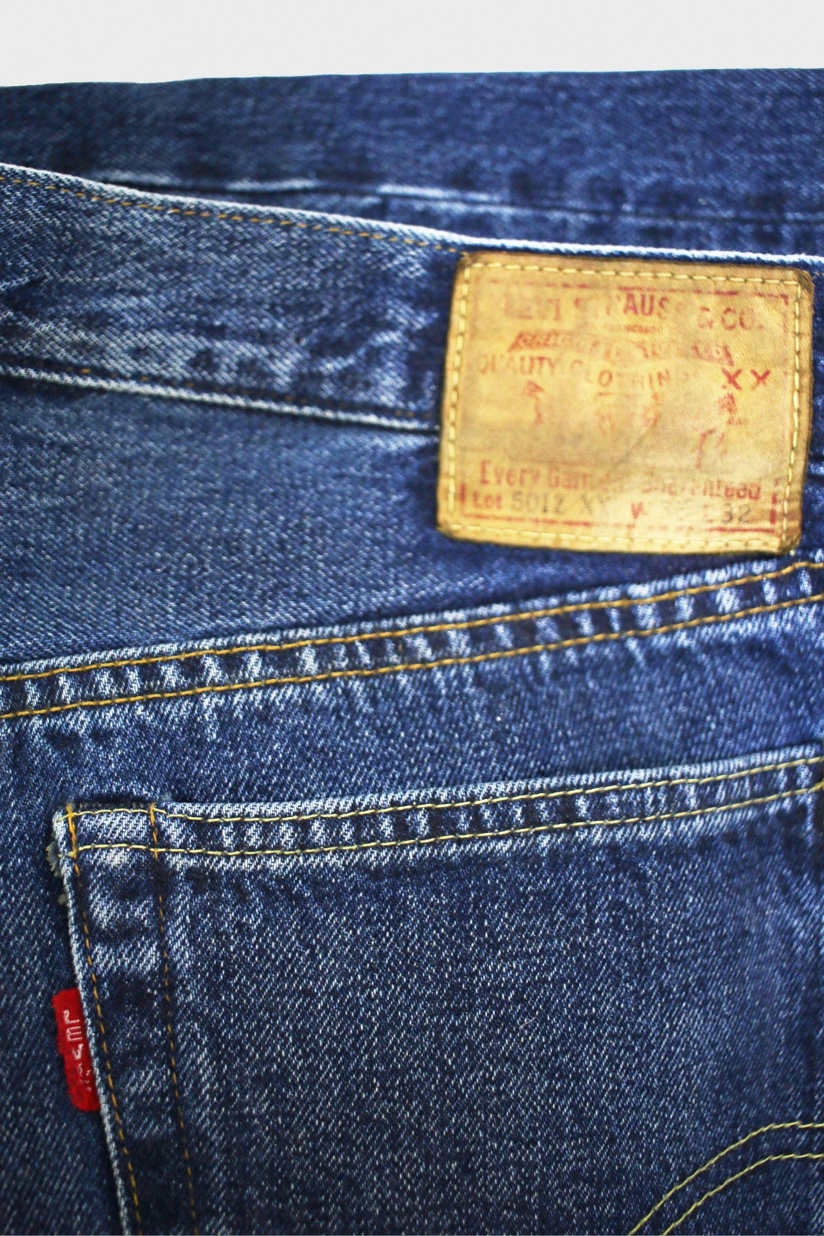 Levi's Vintage Clothing - 1954 501 Jeans - Still Breath - Canoe Club