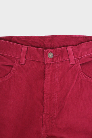 levi's vintage clothing 1970s 519 Cords - Oxblood