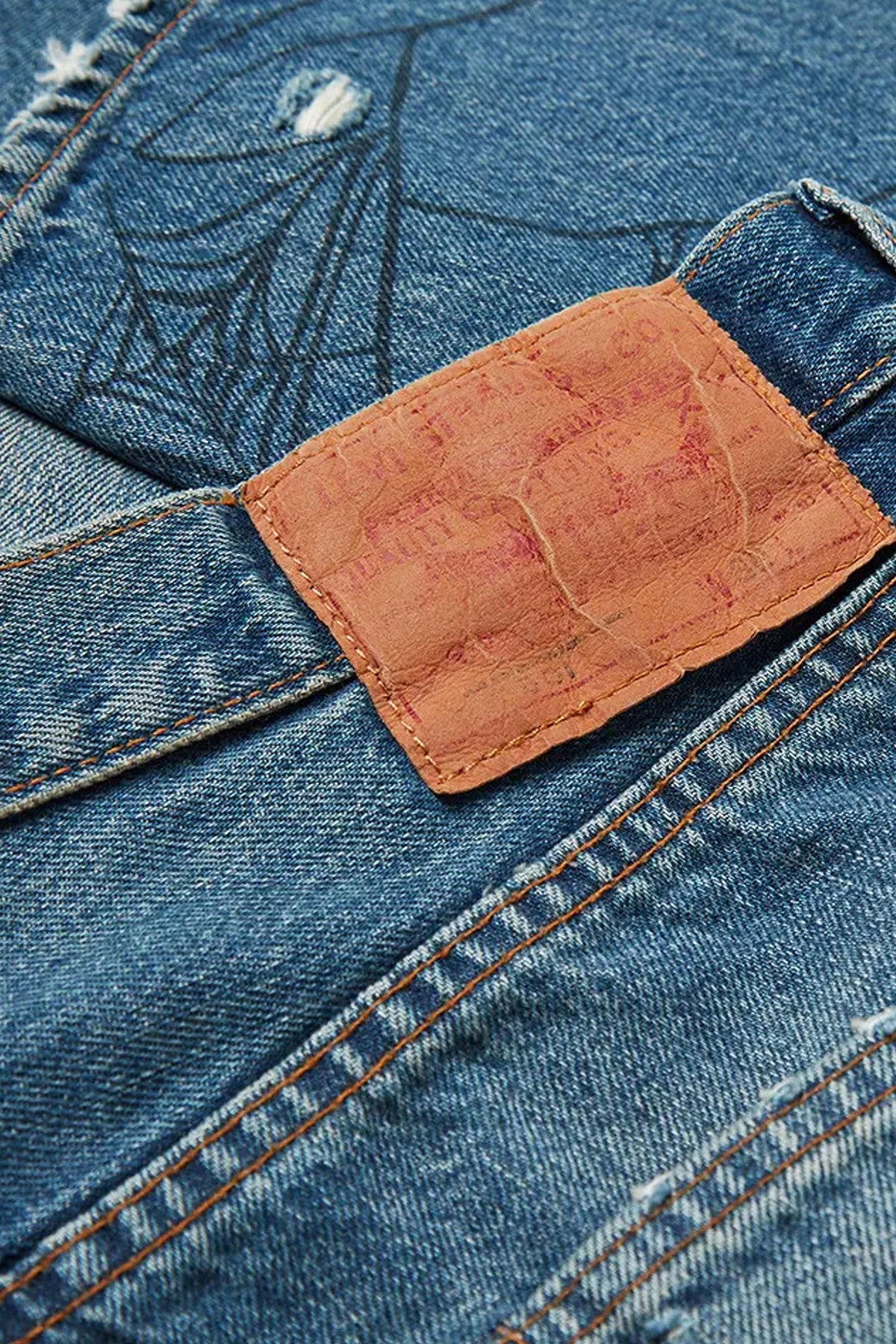 Levi's Vintage Clothing - 1984 501 Jeans Tangled Web - Canoe Club