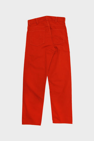 levi's vintage clothing lvc 5 Pocket Sateen Pants - Rooibos Tea