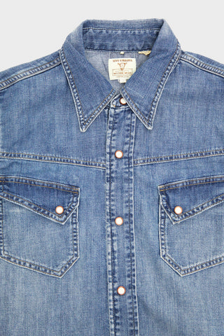 levi's vintage clothing 50's Western Denim Shirt - Blind Lemon