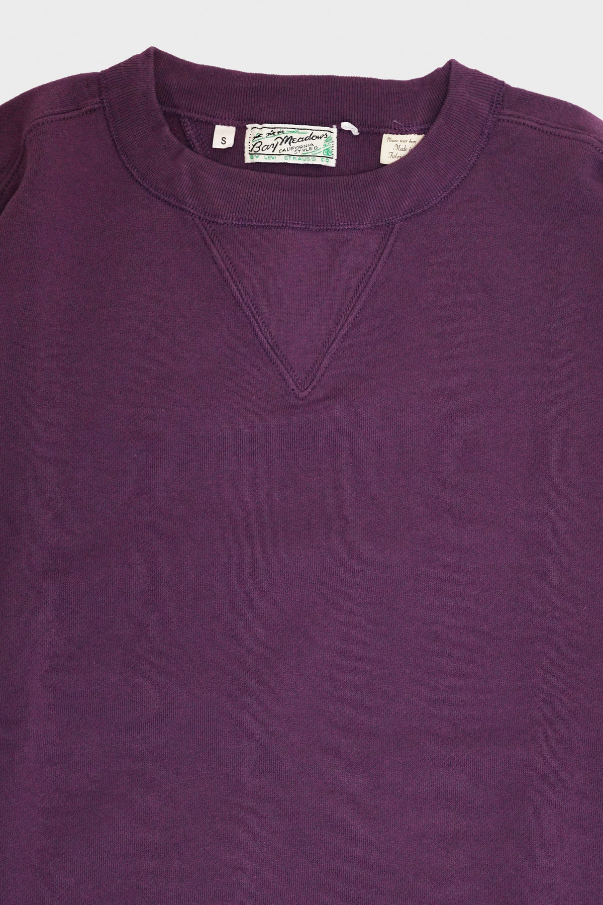 Levi's Vintage Clothing - Bay Meadows Sweatshirt - Dark Purple - Canoe Club