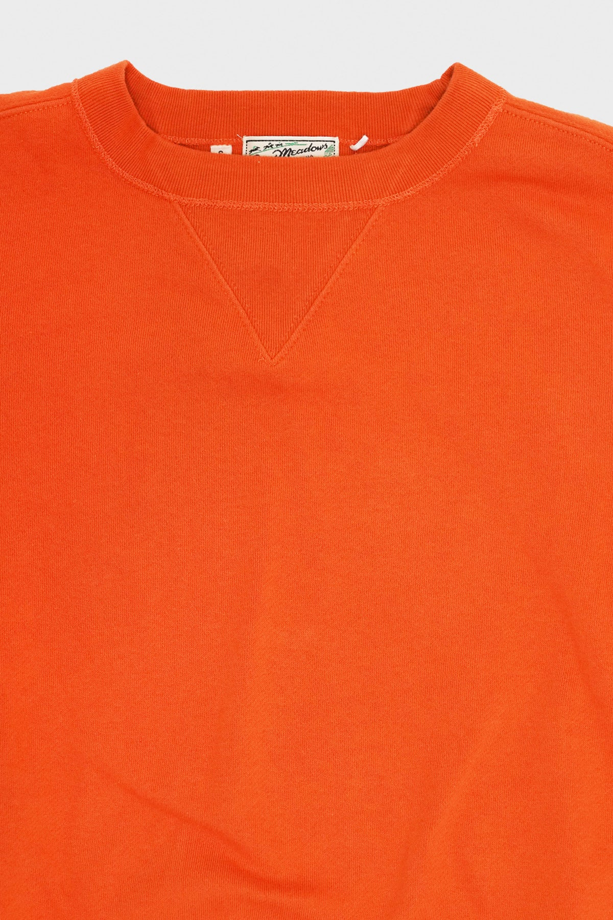 levis vintage clothing lvc Bay Meadows Sweatshirt - Russet Orange