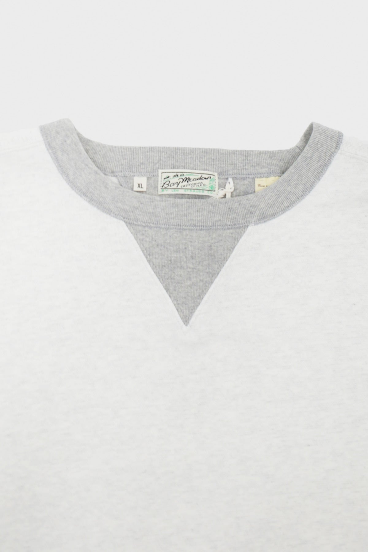 Levi's Vintage Clothing - Bay Meadows Sweatshirt - White - Canoe Club